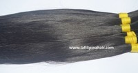 Wholesale Human Hair Extensions, Authentic Human Bulk Hair colored #1B, Single Drawn Filipino Hair Extensions