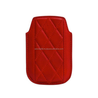 Luxury Genuine Leather Mobile Case / Red Hot Sale Of Real Leather Mobile Cover