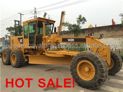 Used Motor Grader CAT 140H for sale, second hand but high quality and cheap price, also CAT 140K HOT sale!
