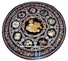 Beautiful Stone Marble Inlay Dining Table Top