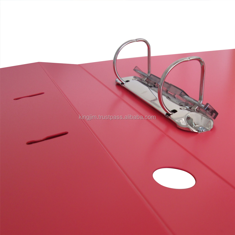 PP D Ring File with durable PP film cover