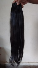Best selling website raw human hair 16inch Straight Brazilian Virgin Natural Hair Extension