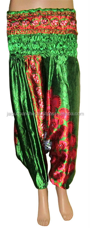 Indian vintage silk trouser pants boho aladdin style hot 2013 new fashion women harem pants