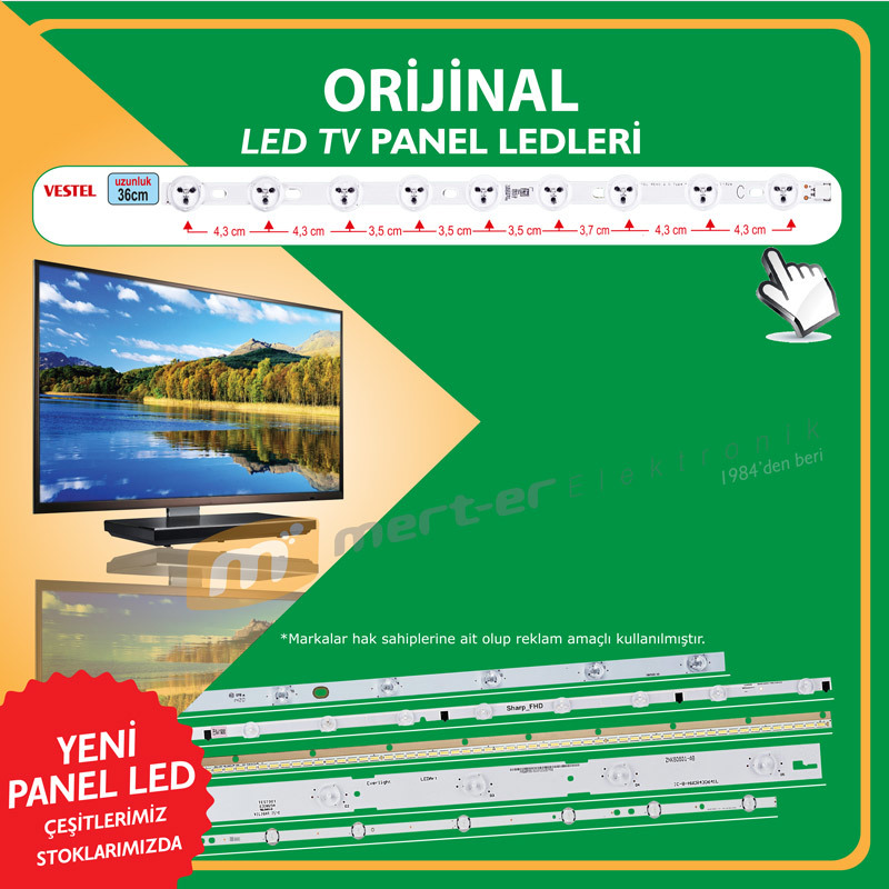 Led Bar Light for TV Vestel