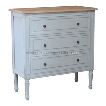 China Shabby Chic Furniture - Chest an Drawer Shabby Finish China Furniture