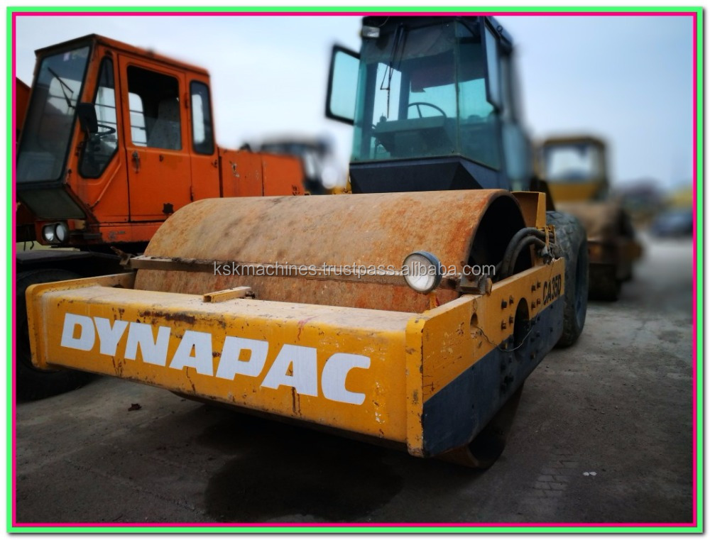 perkins engine komatsu compactor ca35d used dynapac road roller for sale