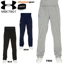 Under Armour MBK7901 UA under armour sweat pants fall winter model Loose Basketball For men