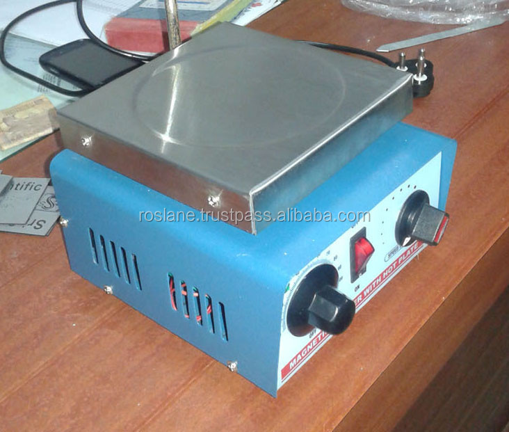 Magnetic Stirrer with Hot Plate/ Laboratory & Scientific Equipment/ Hot Plate Manufaturers / Hot Plate Stirrer