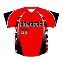 Custom Camo Style Baseball Jersey High quality custom logo Printing Baseball Shirts Short Sleeve Baseball Jersey