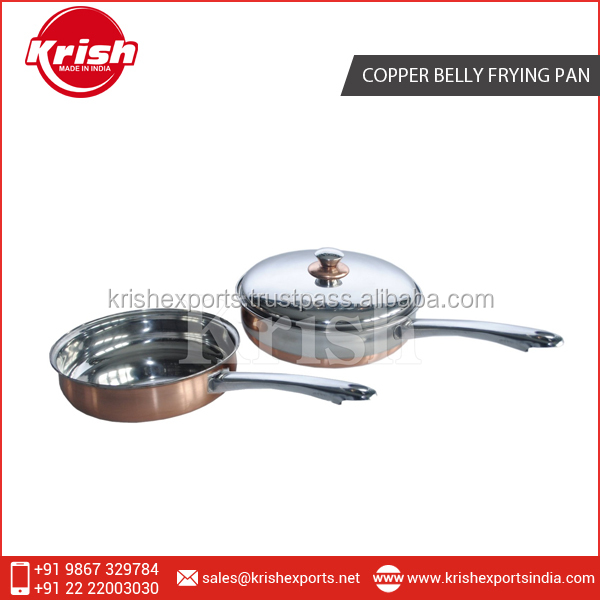 High Quality Top Grade Copper Bottom Frying Pan from Top Seller