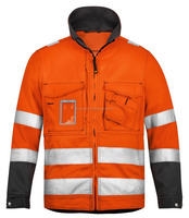 High-Vis Reflective Safety Jacket, Oil & Gas, Auto, Mining, Construction, Road Safety