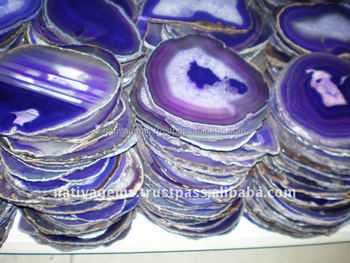 AMAZING AGATE SLICES WHOLESALE
