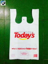 CHEAP Price Supermarket Custom Biodegradable Transparent PE LDPE HDPE Plastic Bag