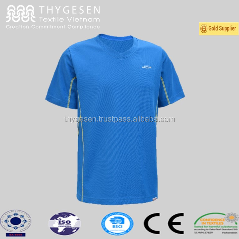 New Men's Comfort Fitness T Shirt 2016 Fitness Running T Shirt Gym Wear Running Sports Men Tee- shirt