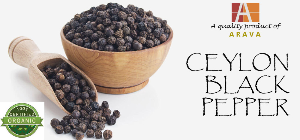 Best Quality Ceylon Black Pepper with Price