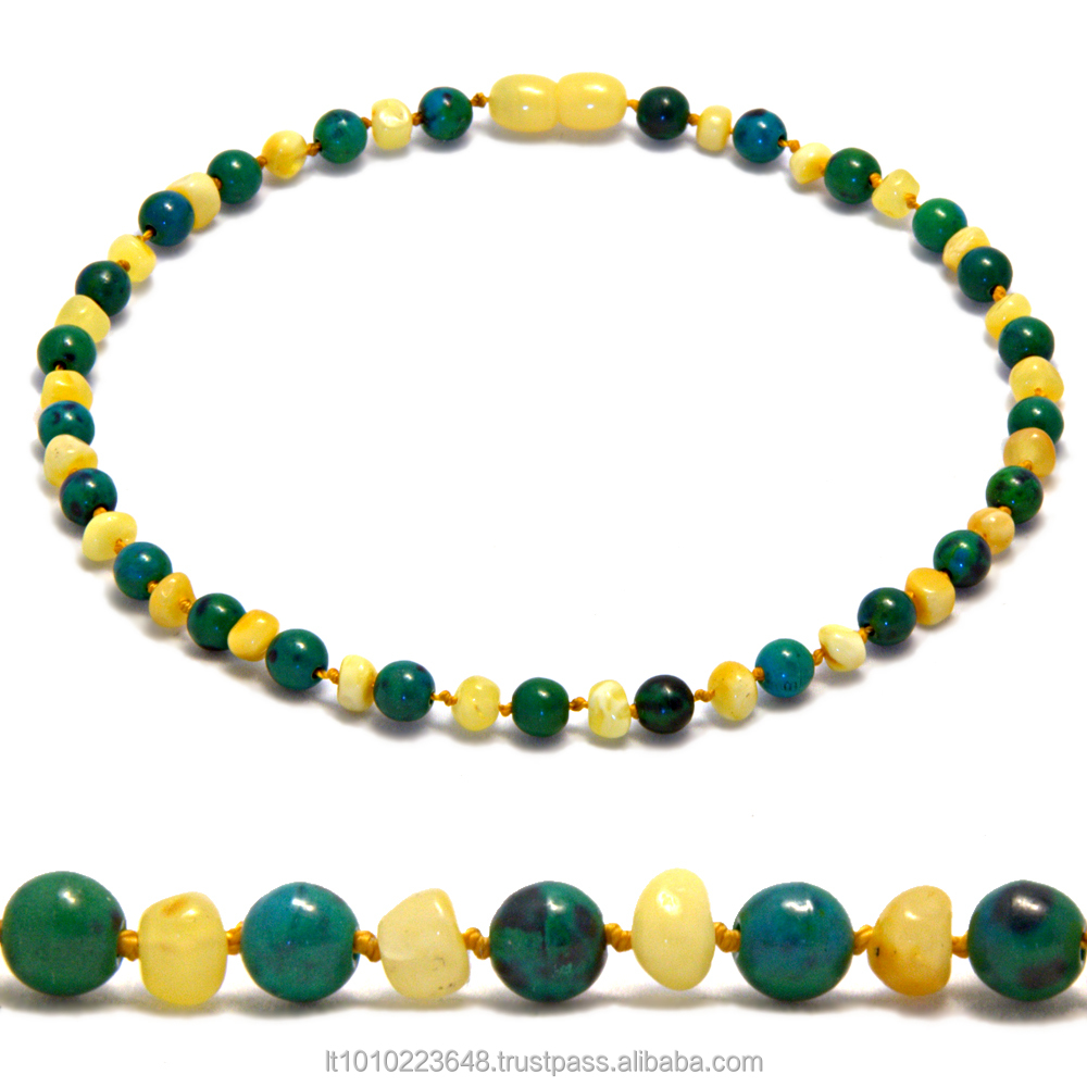 Highest quality baby teething necklaces from natural Baltic amber