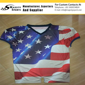 American football jersey sublimated american football jersey Custom sublimated american football uniform