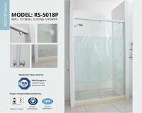 Shower screen, Wall To Wall Shower Room, shower Room, Sliding Door