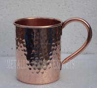 Copper Moscow Mule Mug Hammered