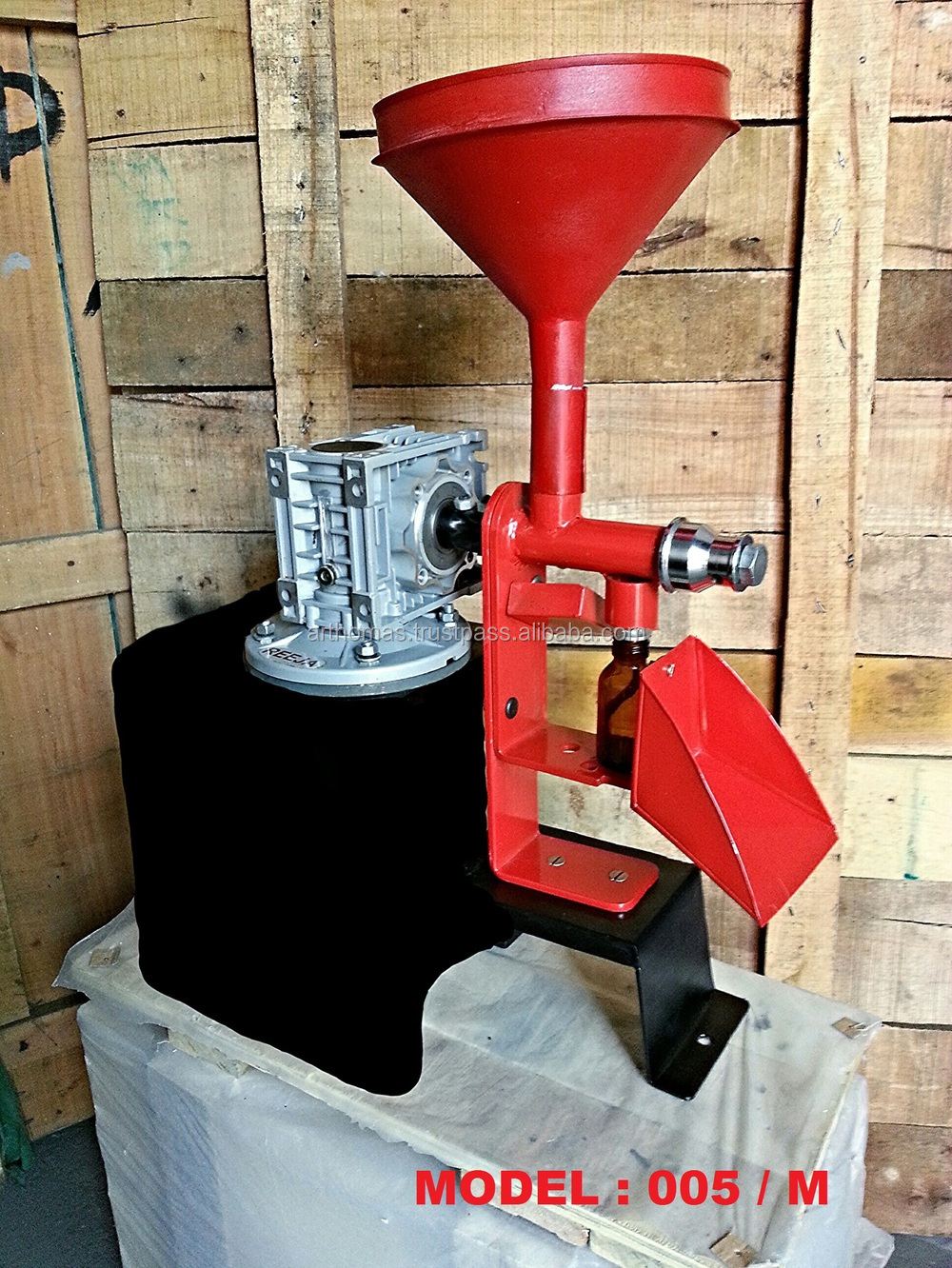Oil Screw Press (KOMET TYPE-GERMANY)