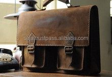 Cow leather school bag SCB-001