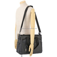 Functional and comfortable business tote bag as cross laptop bag