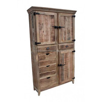 Antique Reclaimed Wood Almirah