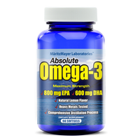 High Quality EPA / DHA Supplement 1000mg OMEGA 3 Fish Oil