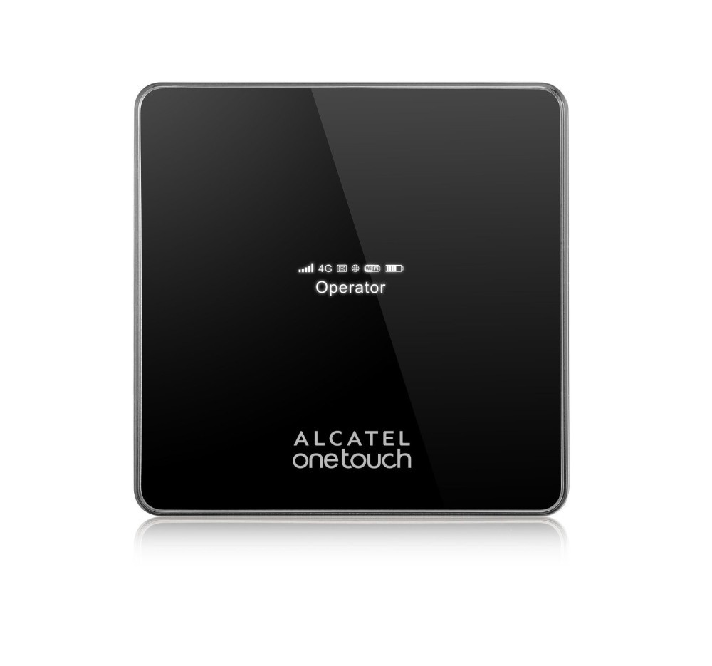 Alcatel Onetouch Y850 Unlocked 4G LTE 150Mbps Wireless Wi-Fi Hotspot Router- Black