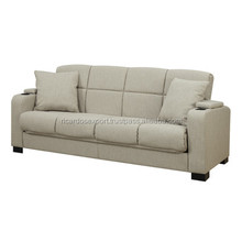 White Sophia Convert-A-Couch Sofa modern High quality designs for apartments