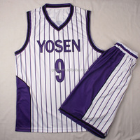 No minumum best basketball jersey design youth basketball team uniforms