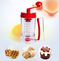 Cupcake Batter Dispenser and mixer machine for pancake use in Kitchen as seen on TV