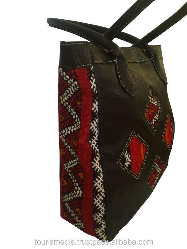 wholesale handmade moroccan kilim tote bags genuine