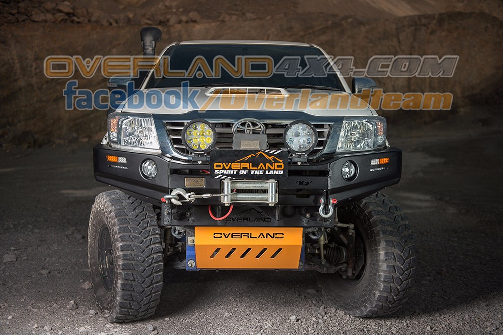 4x4 accessories Front bumper Everest Bull Bar Series for Toyota Hilux Vigo