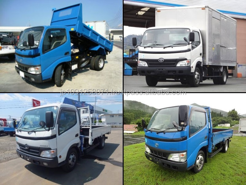 Reliable and High quality used toyota 3 ton truck with good fuel economy made in Japan