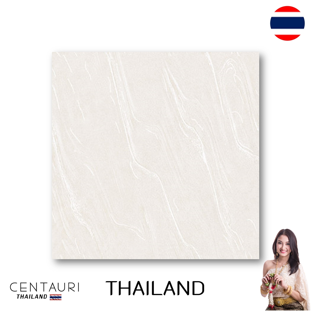 Size 600x600 mm Marble White Pearl Polished Granito Floor Tile and Great Quality Interior Floor Tile from Thai Supplier