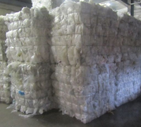 LDPE FILM 100% CLEAR IN BALES