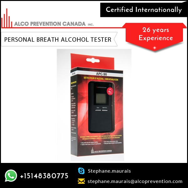 Best Quality Personal Alcohol Tester from Trusted Wholesale Distributor