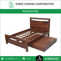 Wholesale Selling of Modern Design Wooden Box Bed Direct from Factory