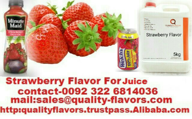 Strawberry Flavor For Juice