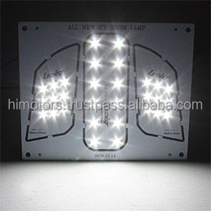 Car LED Interior Dome Lamp Full Kit for KIA Cardenza2016