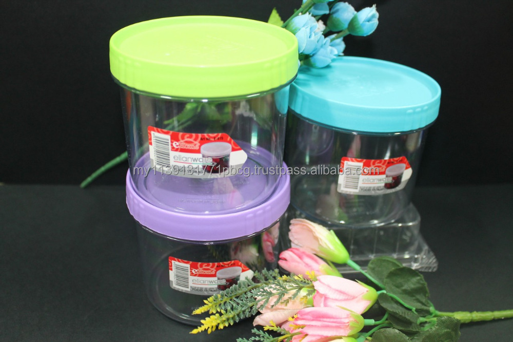 Home food storage small AS container 560ml for pasta, coffee, tea, crackers and candy
