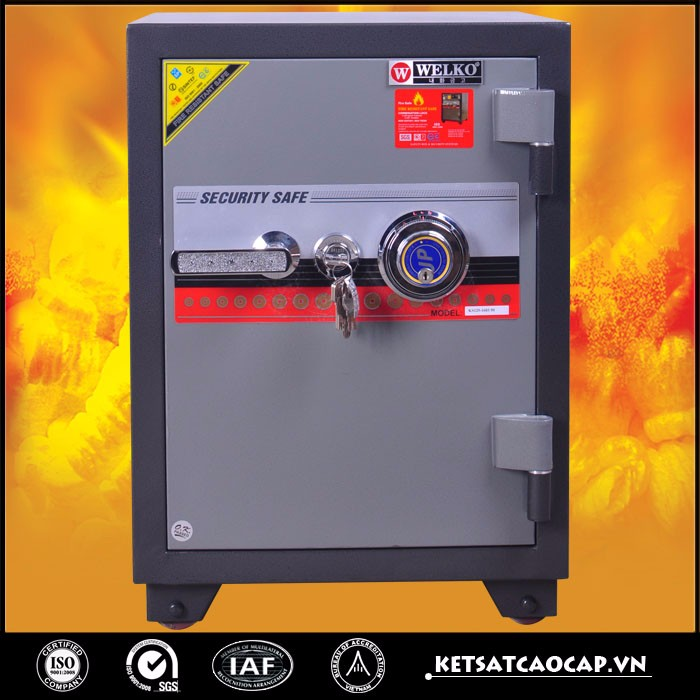 Durable professional fireproof/anti-fire gun safe - KS 125 DK