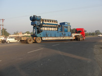 used secondhand HFO base DG set & power plants