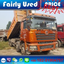 Low price Shacman F3000 8x4 used dump truck of used 8x4 tipper truck for sale