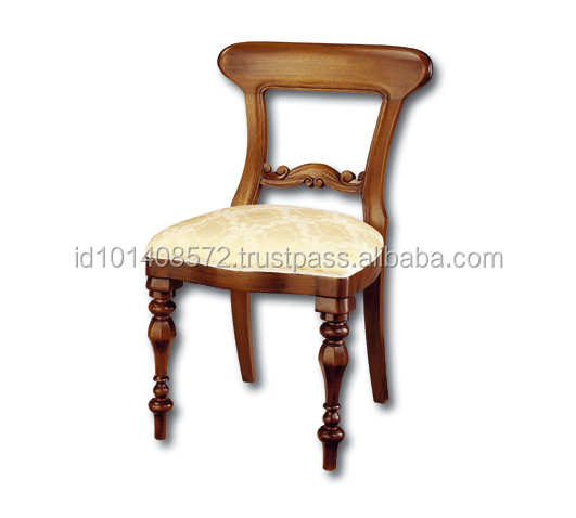 Mahogany Chair Spoon Back Indoor Furniture