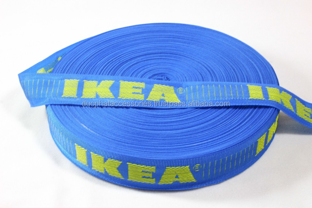 Hot Selling Polyestes Webbing Tape, IKEA Tape Wholesale from Vietnam Manufacture