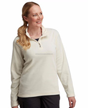Custom cheap fleece pullover hoodies, Wholesale womens half zip cotton polar fleece jackets