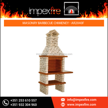 Newly Arrived Masonry Barbeque Chimney made of 100% Refractory Bricks
