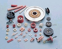 High quality and Smooth surface prefab house machinery ceramic roller guide with various kind